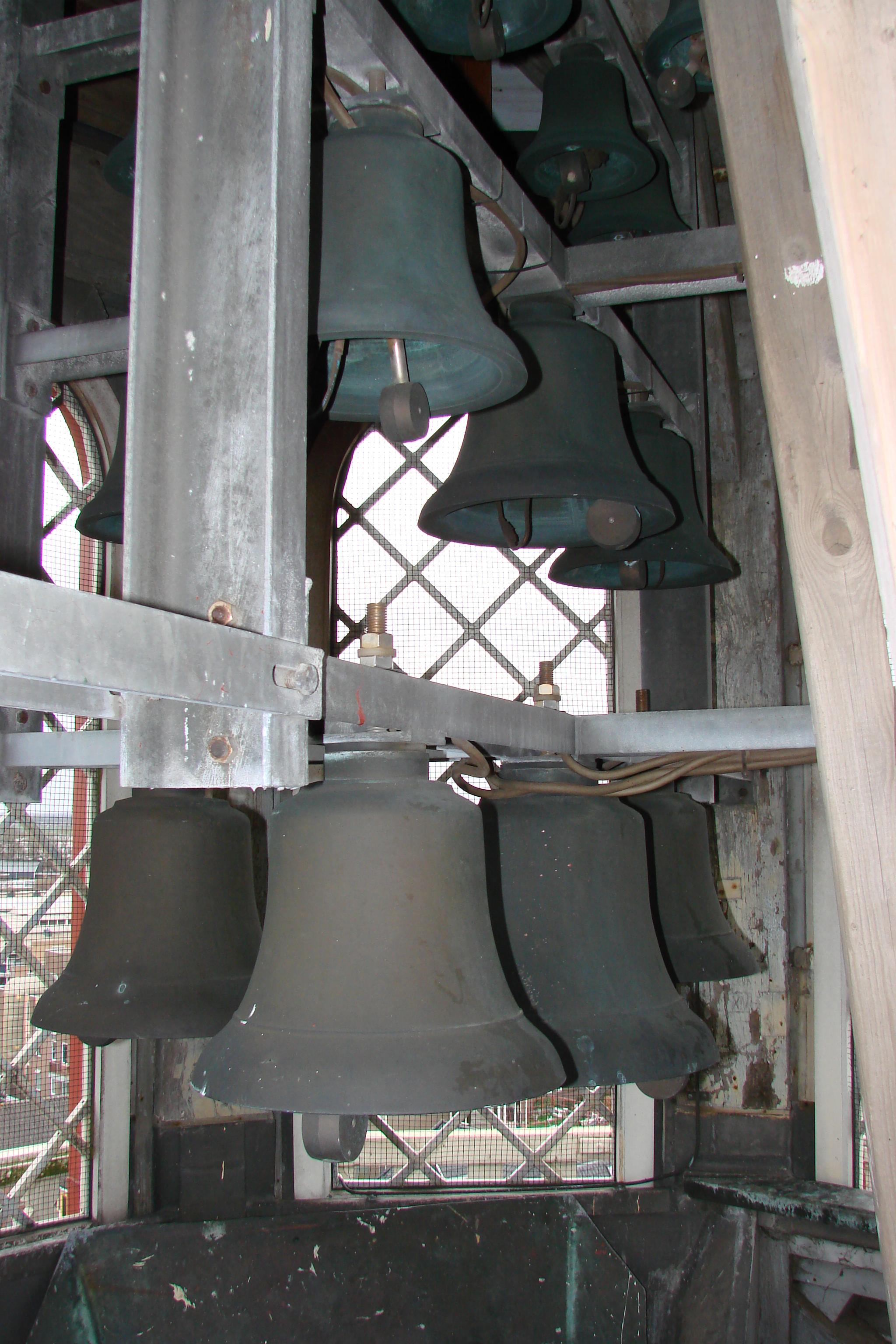 Carillon Coevorden in de toren van de N.H.kerk