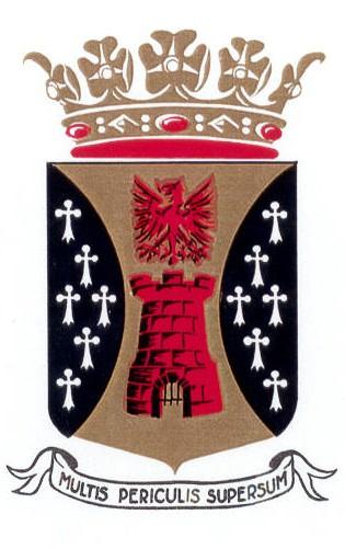 Gemeentewapen Coevorden 1968