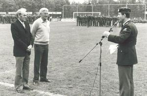 Gerrit Blaauw en Ab Koert Van Heutsz
