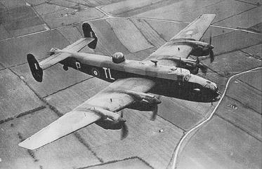 Handley Page Halifax  bron: RAF