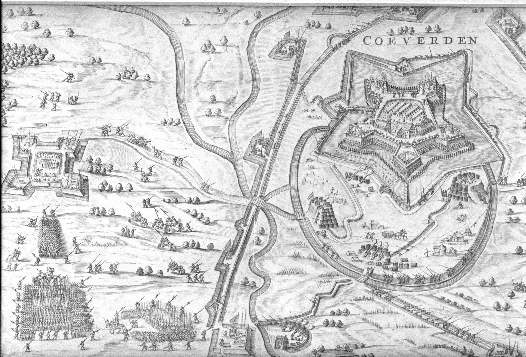 De verovering van Coevorden 1592
