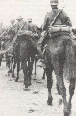 Het Duitse 1e Reiterregiment