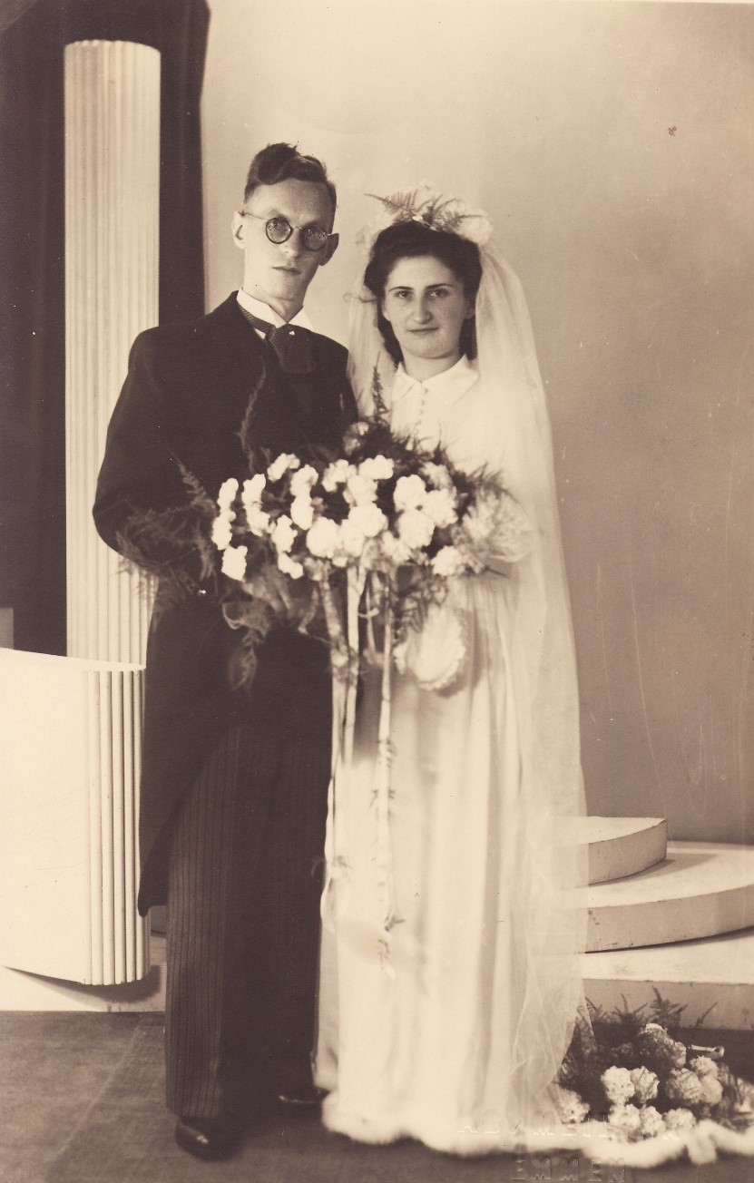 Huwelijksfoto_Bron_Historische Vereniging Aold Daoln