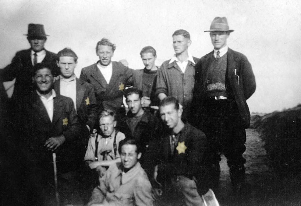 Joodse gevangenen uit werkkamp Geesbrug_Bron_Historische Vereniging Aold Daoln