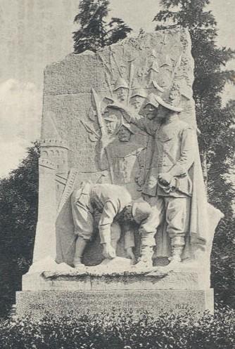 Monument Meindert van der Thijnen in het van Heutszpark