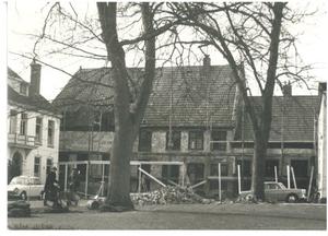 Oostzijde tijdens restauratie
