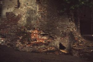 Opgravingen bij de fundering van de toren