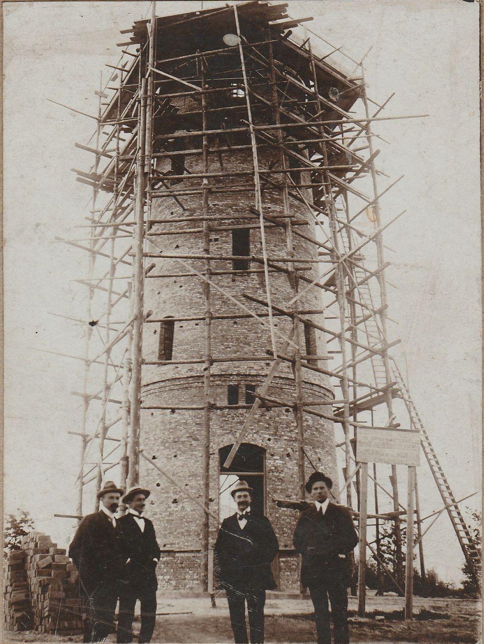 Dr. Picardtlaan watertoren, bouw in 1914