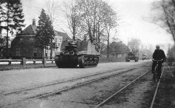 Poolse tanks in Oosterhesselen
