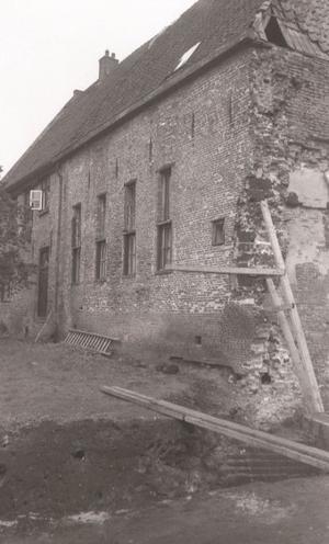 Achterzijde kasteel Coevorden