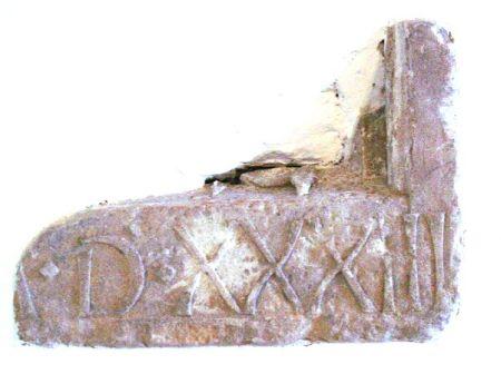 Steen met tekst Kasteel 2
