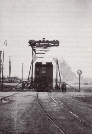 Stilstaande tram