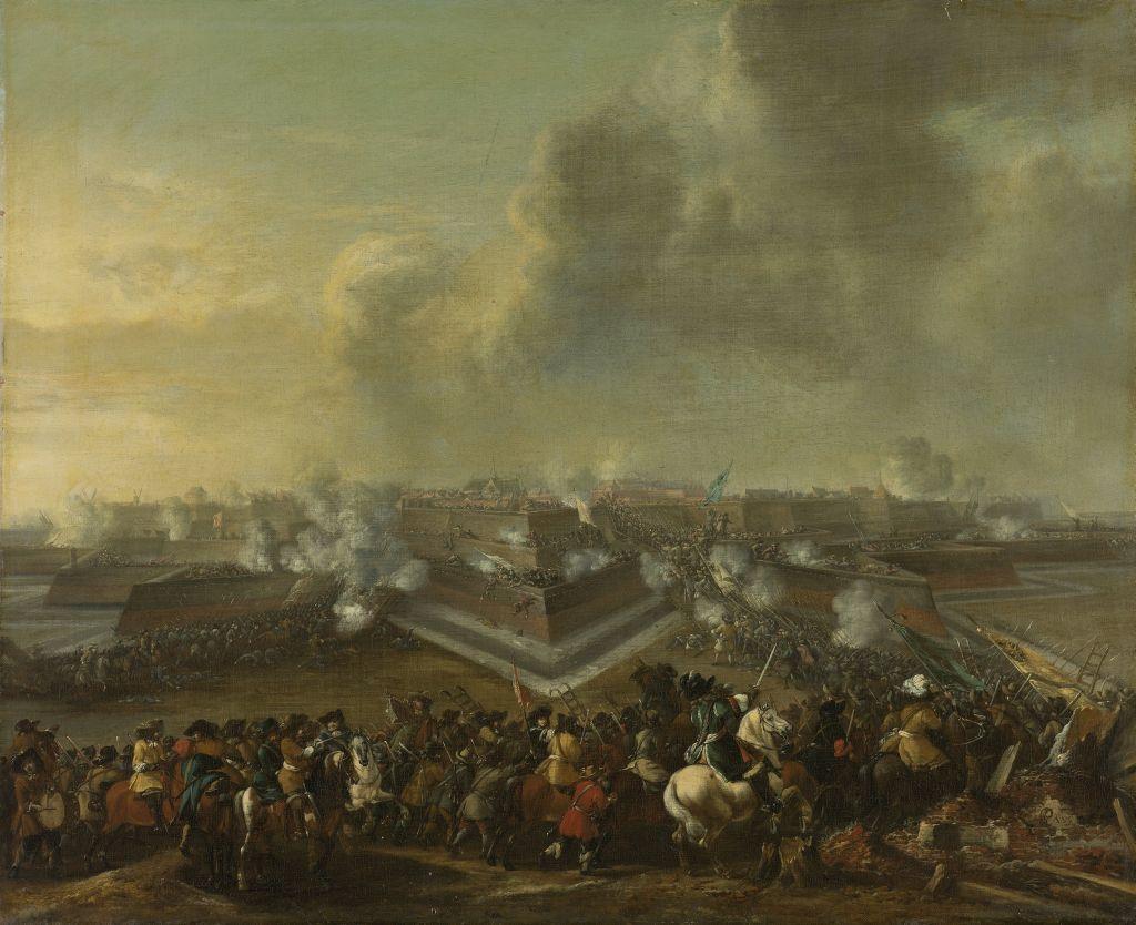 Verovering van Coevorden 1672 bron_ Rijksmuseum
