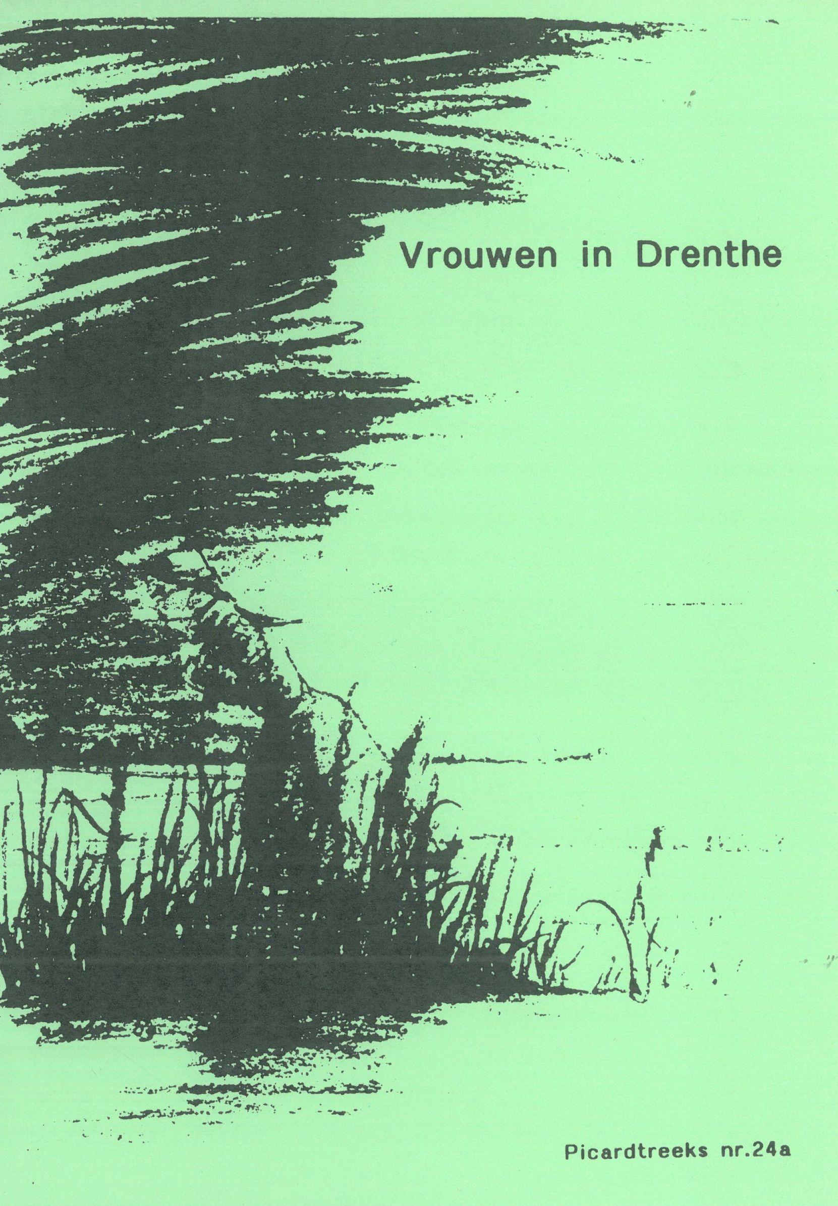 Voorblad Vrouwen in Drenthe