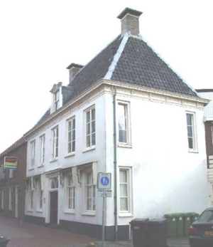 het oude raadhuis in de Kerkstraat