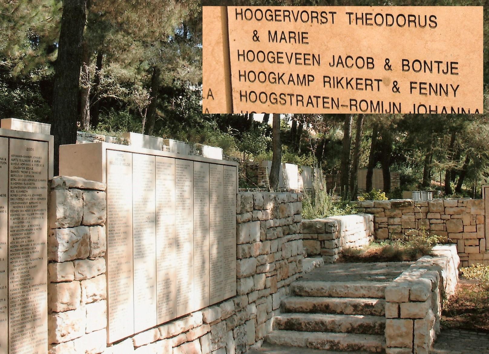 Yad Vashem monument in Jeruzalem_bron_Historische Vereniging Aold Daoln