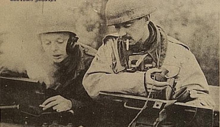 De Poolse tankcommandant Majoor Jerzy Wasilewski