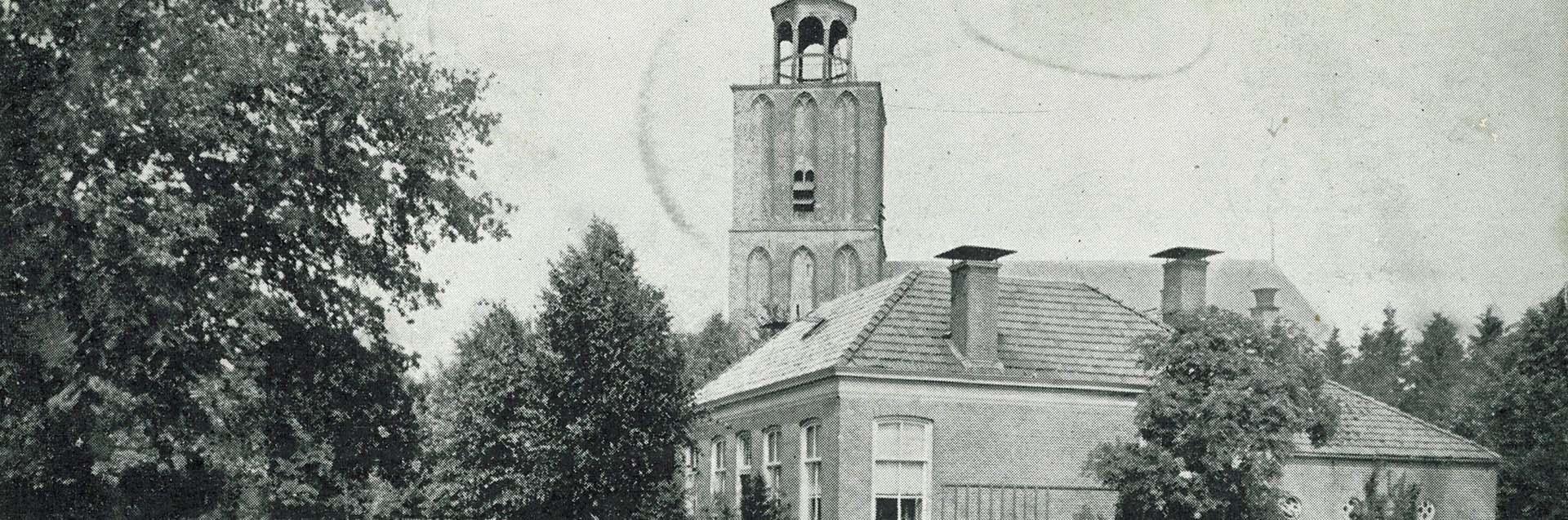 Sleen - Brink met kerktoren